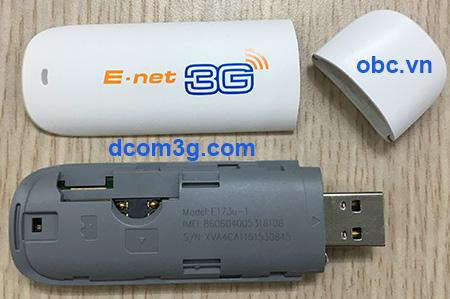 USB Dcom 3G Huawei E173 dùng các sim giá rẻ