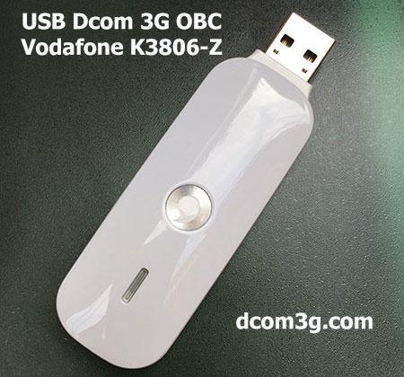 USB Dcom 3G OBC Vodafone K3806-Z đa mạng