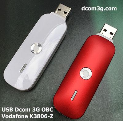 USB Dcom 3G OBC Vodafone K3806-Z đa mạng tốc độ cao