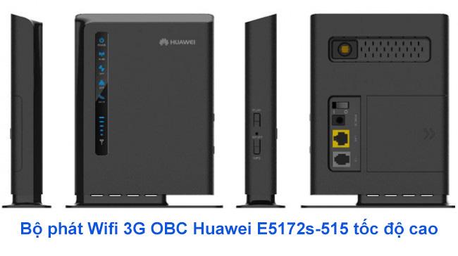 Bộ phát 3G Wifi Huawei E5172s-515 chính hãng
