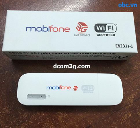 Unlock USB 3G Mobifone 8231s-1