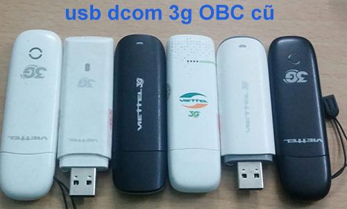 bán usb 3g viettel, mobifone, vinaphone cũ giá rẻ
