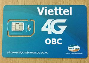 Sim 3G/4G Viettel 60Gb không giới hạn 12 tháng