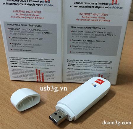 USB 3G Vodafone SFR E372u-8 42,2Mbps bắt sóng khỏe