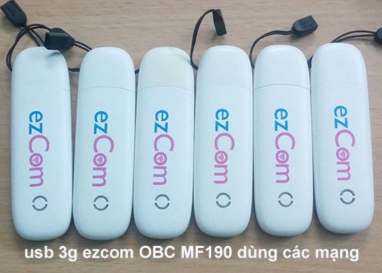 hình ảnh của usb 3g ezcom vinaphone mf190 cũ