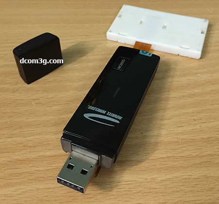 USB 3G Novatel Wireless Ovation MC950D chuyên Spam SMS