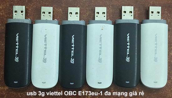 usb 3g viettel OBC E173eu 1 cũ giá rẻ