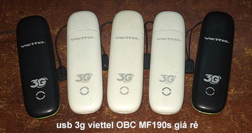 usb 3g viettel mf190s cũ giá rẻ