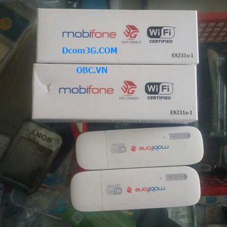 Unlock mở khóa USB 3G Mobifone 8231s-1