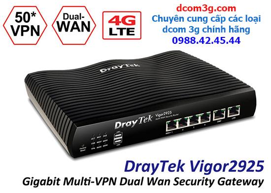 Dcom 3G dùng cho Modem Draytek Vigor 2925