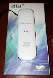 USB Dcom 3G Viettel D6602 giá rẻ, chạy đa mạng