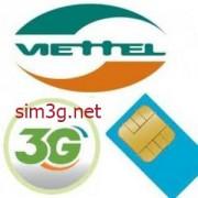 Sim 3g Viettel 120Gb giá rẻ, dung lượng lớn