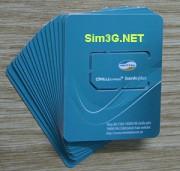 Dùng 3G thoải mái thả phanh với sim 3g không giới hạn 6 tháng, mỗi tháng 7Gb