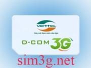 Sim 3g viettel 84Gb không giới hạn 12 tháng sử dụng rất tốt