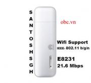 Đánh giá tổng quan về USB 3g E8231 cực sốc, giá rẻ mà phát được wifi