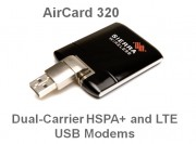 New Sierra Wireless AirCard® USB modems for 4G networks are fast, good-looking, and flexible