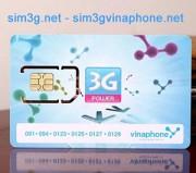 Sim 3g Vinaphone 36Gb giá siêu ưu đãi