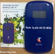 Router 3G phát wifi MF60 tốc độ cao giá rẻ
