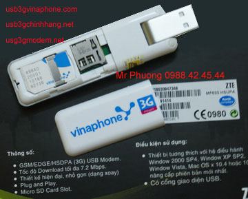 usb 3g vinaphone mf633